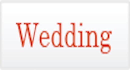 Usage - Wedding