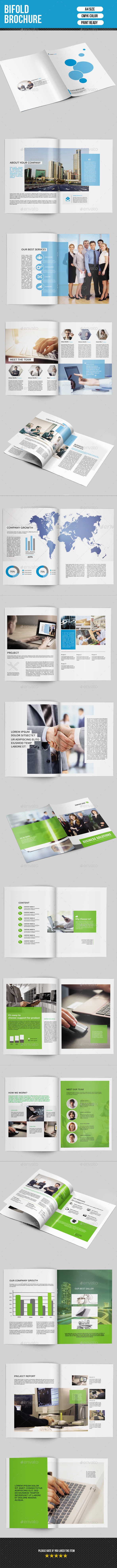 Corporate Bifold Brochure Bundle-V06 - Corporate Brochures