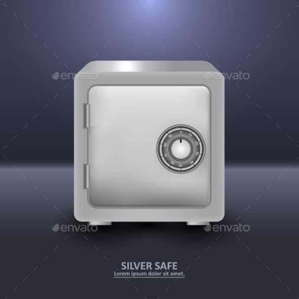 Security Safe  - Concepts Business