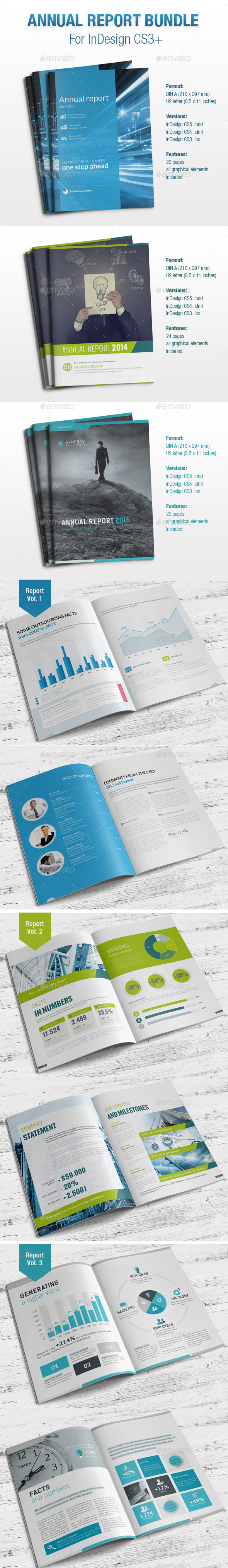 Annual Report Bundle - Informational Brochures