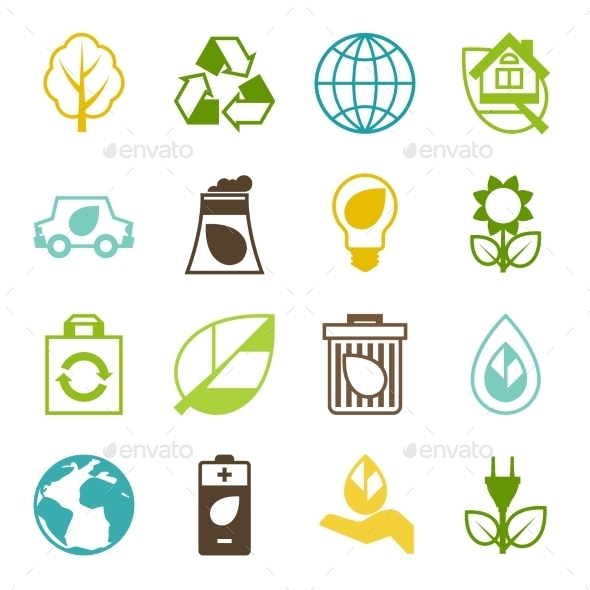 Ecology Set - Industries Business