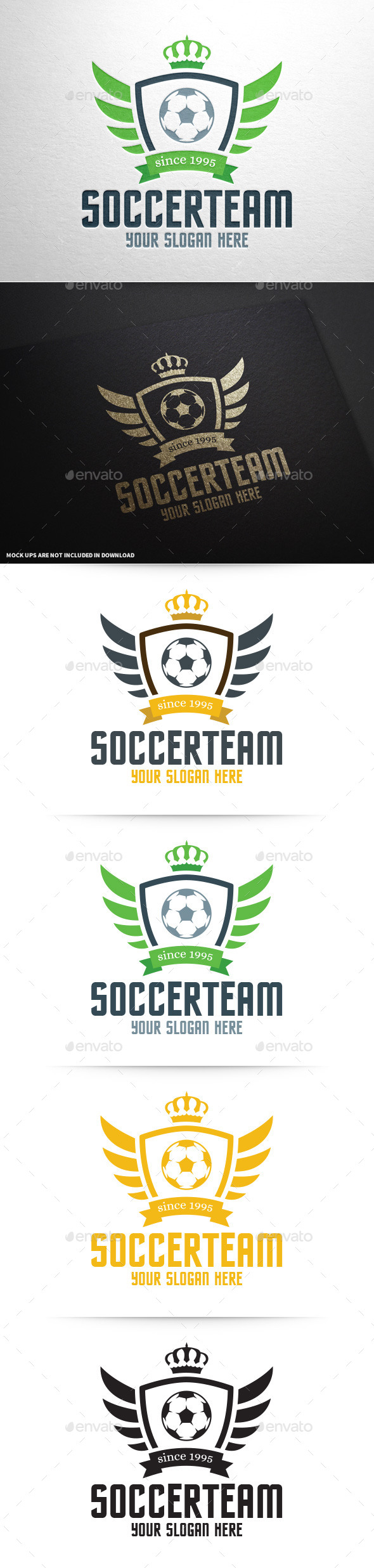 Soccer Team Logo Template - Crests Logo Templates