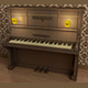 Piano - 19th/20th Century - 3DOcean Item for Sale