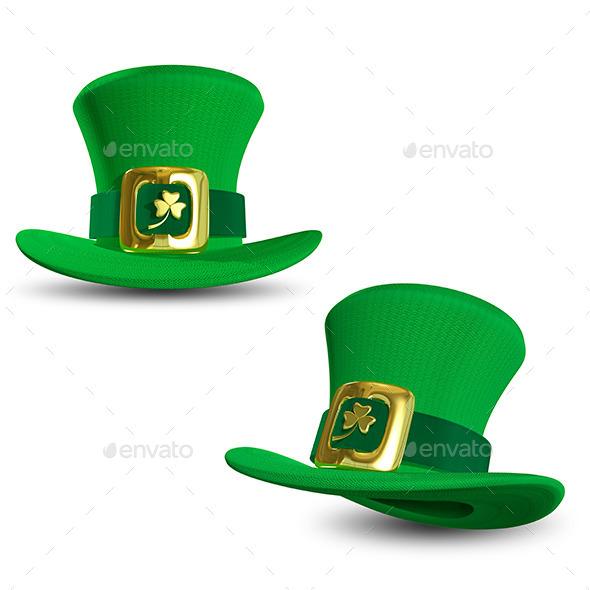 St. Patrick Hat - Objects 3D Renders