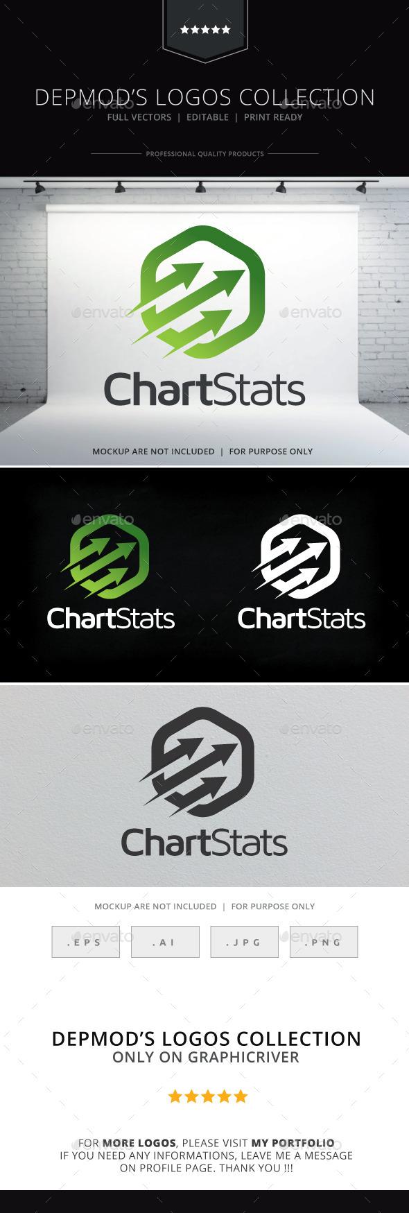 Chart Stats Logo - Symbols Logo Templates