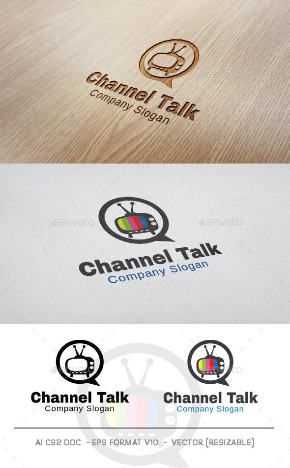 Channel Talk Logo - Objects Logo Templates