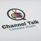 Channel Talk Logo - GraphicRiver Item for Sale