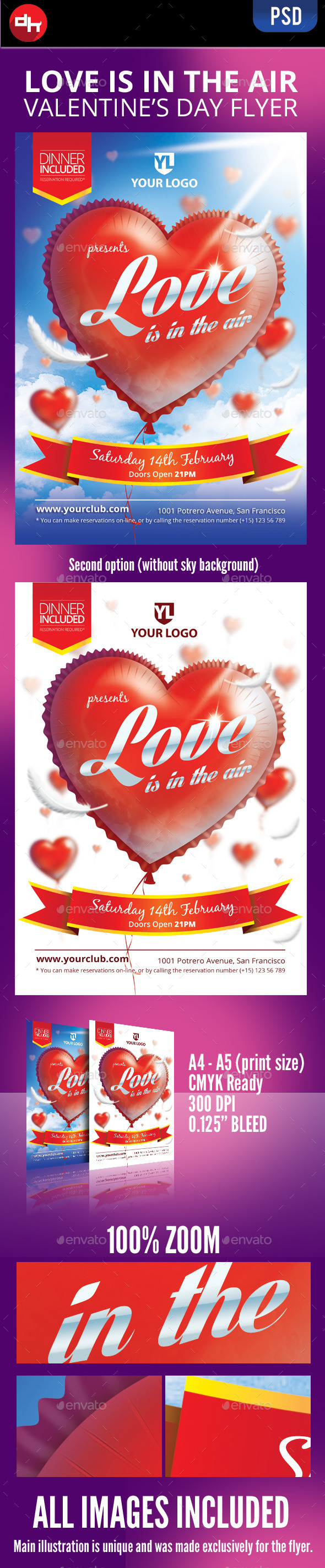 Love is in the Air - Holidays Events