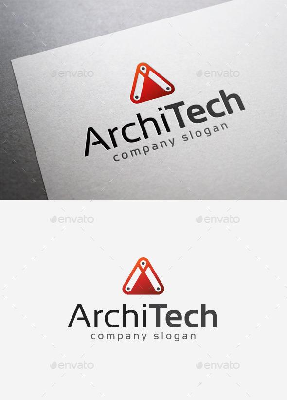Archi Tech Logo - Letters Logo Templates