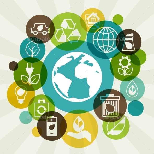 Ecology Background  - Industries Business