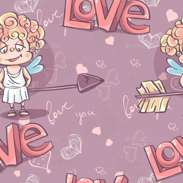 Valentine's Day Pattern - Patterns Decorative