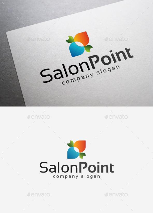 Salon Point Logo - Abstract Logo Templates