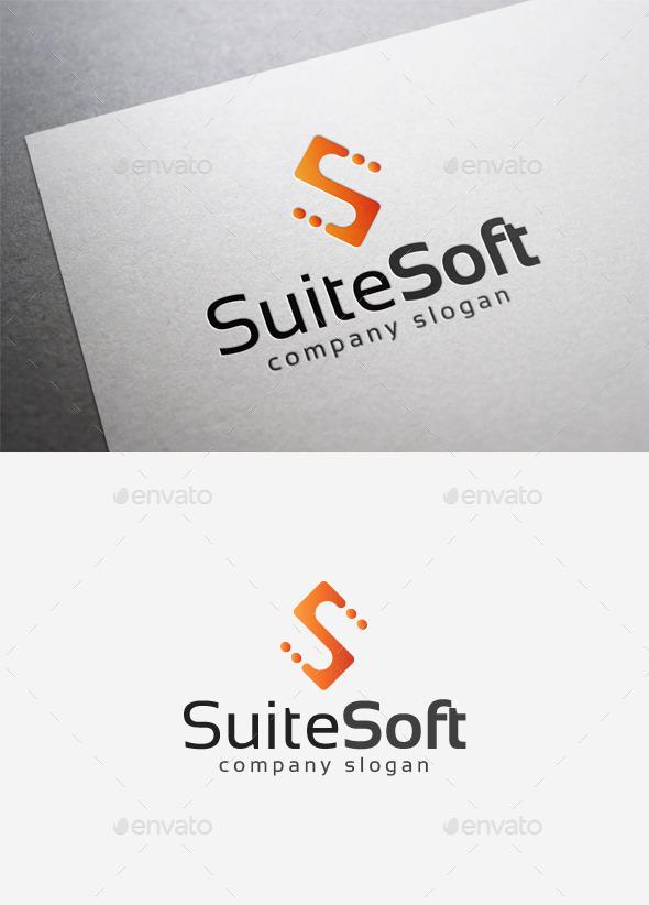 Suite Soft Logo - Letters Logo Templates