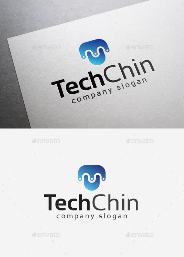 Tech Chin Logo - Letters Logo Templates