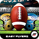 XLIX Football Game Flyer Template - GraphicRiver Item for Sale