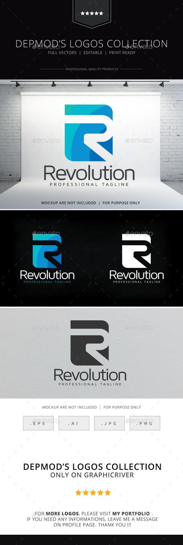 Revolution Logo - Letters Logo Templates