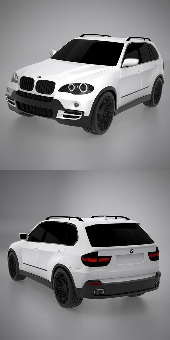 BMW X5 3D model - 3DOcean Item for Sale