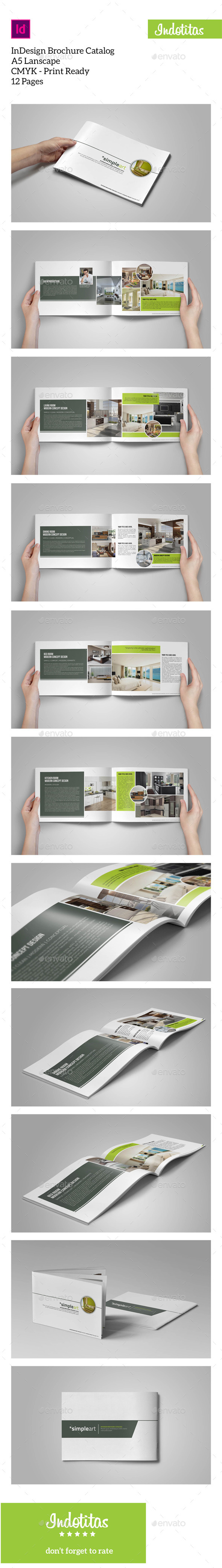 A5 Brochure Catalogs Template - Catalogs Brochures