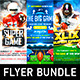 American Football Game Flyer Bundle - GraphicRiver Item for Sale