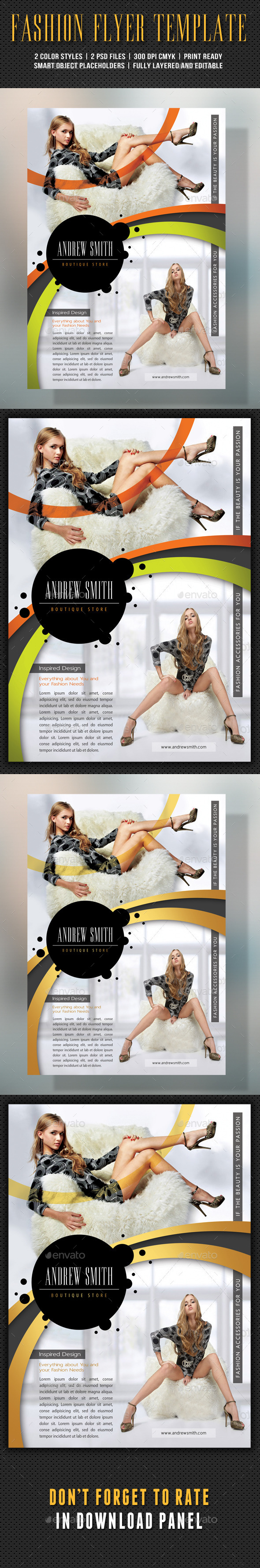 Fashion Product Flyer 59 - Events Flyers