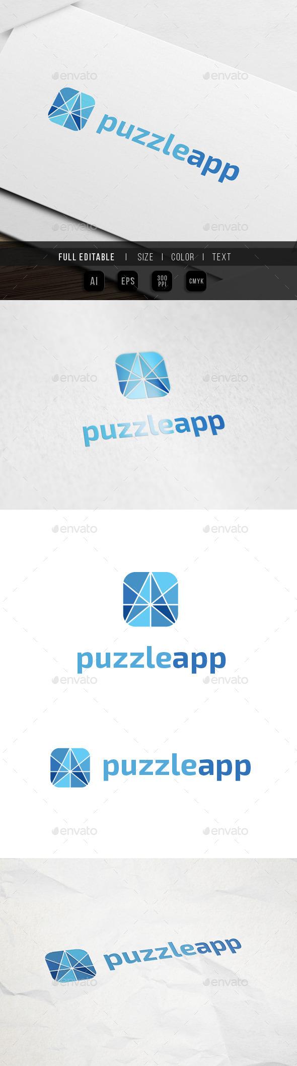 Application Development Logo - Abstract Logo Templates
