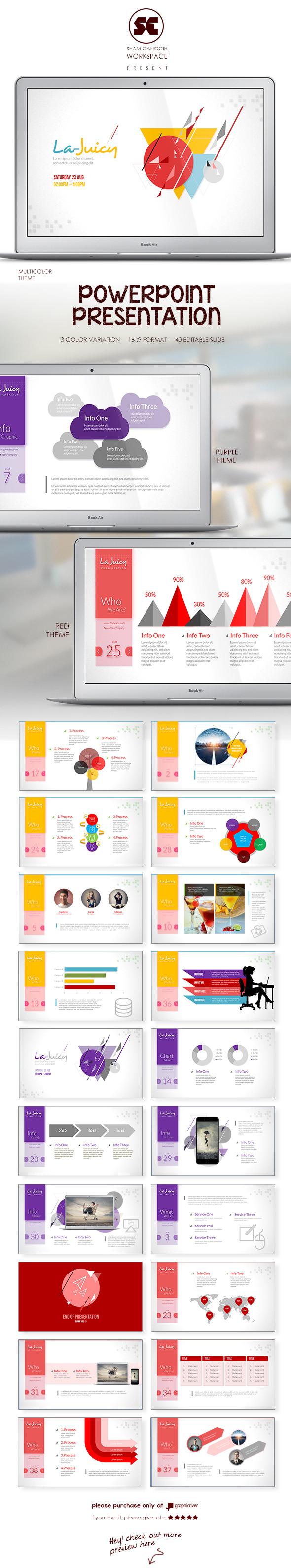 PowerPoint Presentation Template - Miscellaneous PowerPoint Templates