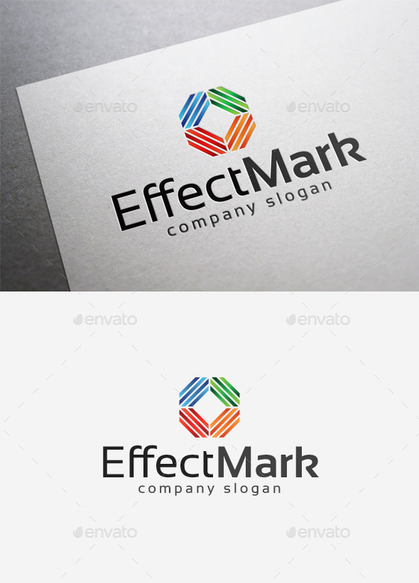 Effect Mark Logo - Abstract Logo Templates