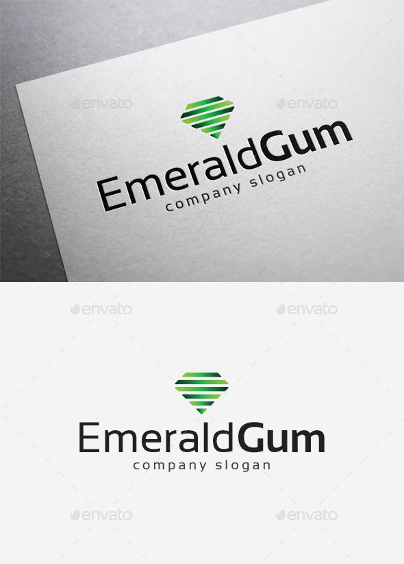 Emerald Gum Logo - Symbols Logo Templates