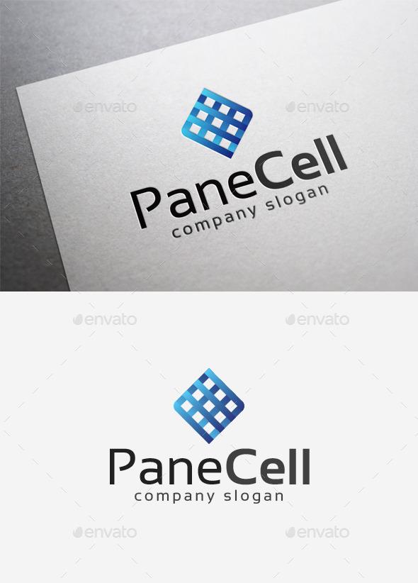 Pane Cell Logo - Abstract Logo Templates