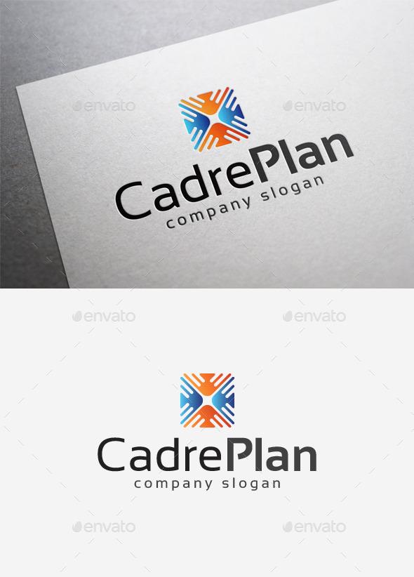 Cadre Plan Logo - Abstract Logo Templates