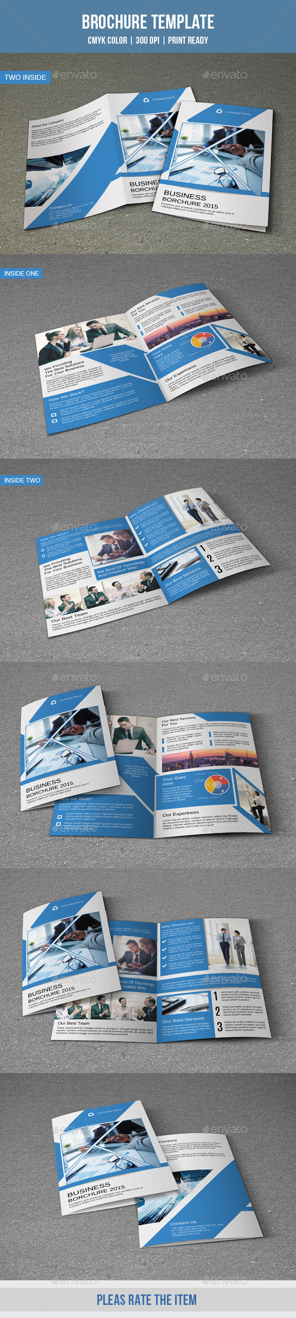 Corporate Bifold Brochure-V182 - Corporate Brochures