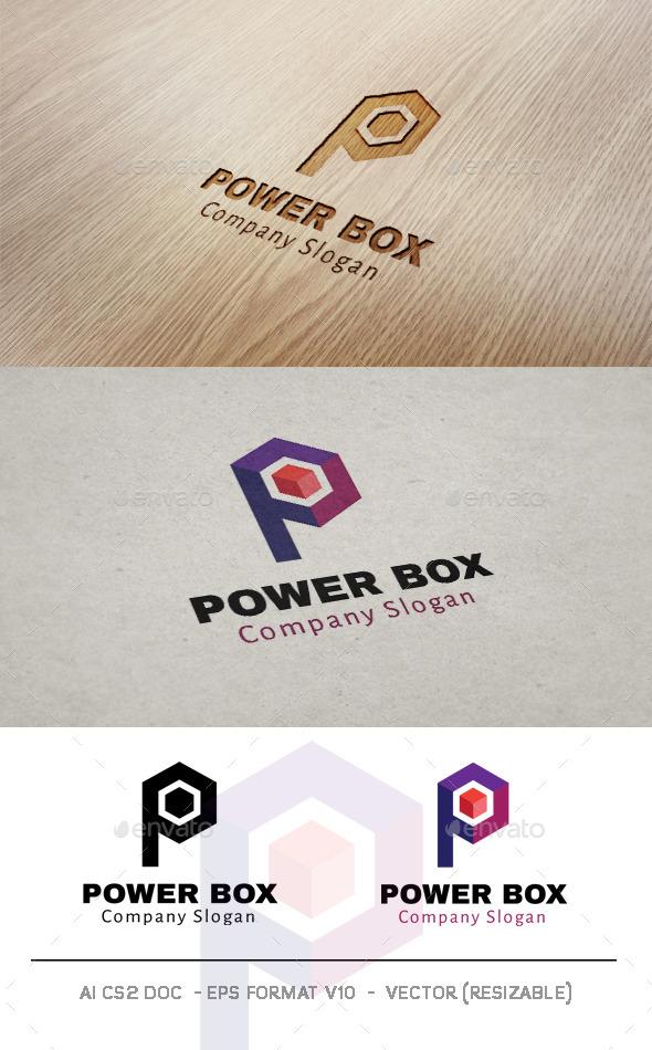 Power Box / Letter P Logo - Letters Logo Templates
