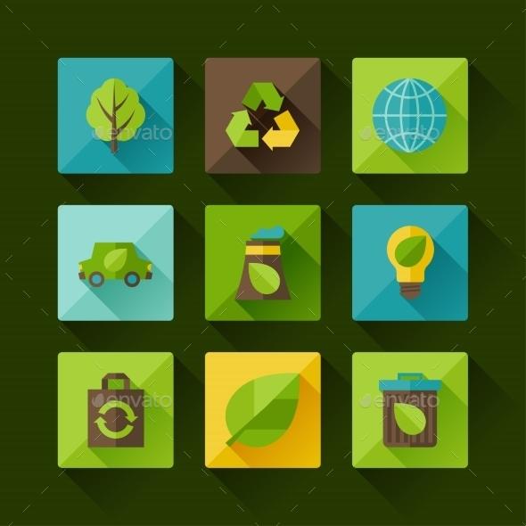 Ecology Set  - Nature Conceptual