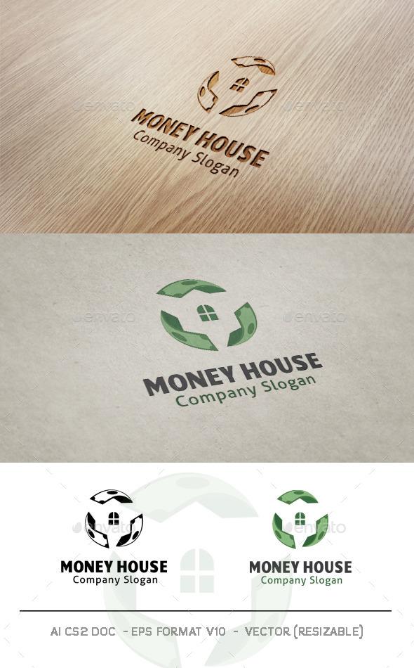 Money House Logo - Symbols Logo Templates