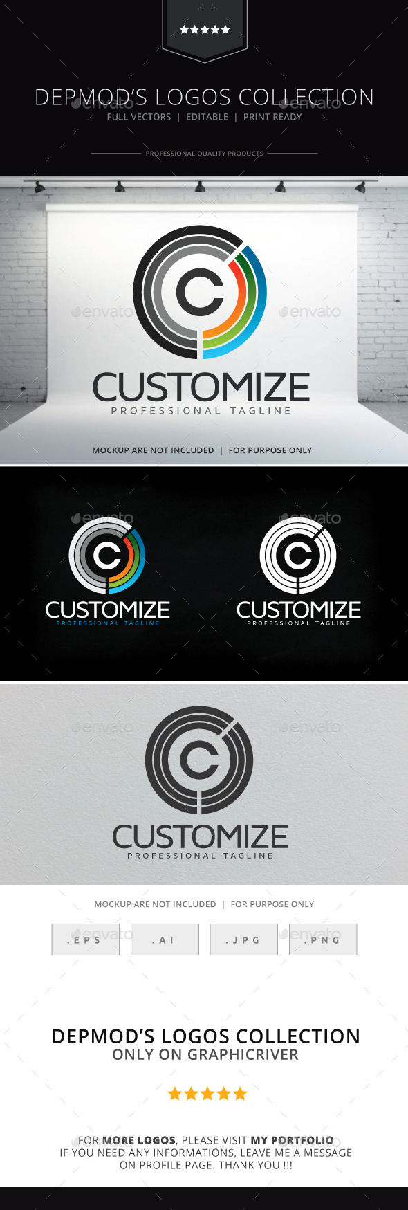 Customize Logo - Letters Logo Templates