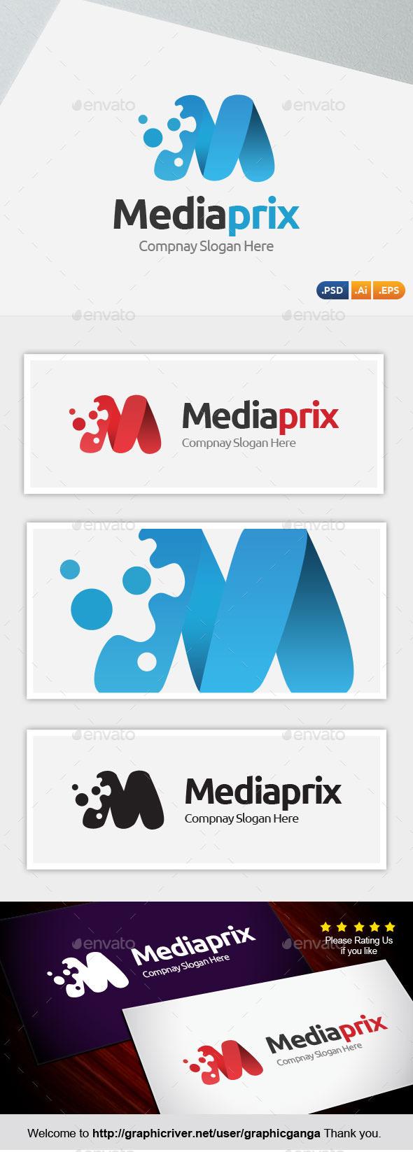 Media Prix - Abstract Logo Templates