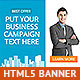 Corporate HTML5 Animated Banner 3 - CodeCanyon Item for Sale
