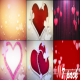 Clean Valentine's day & Wedding Hearts Backgrounds - VideoHive Item for Sale