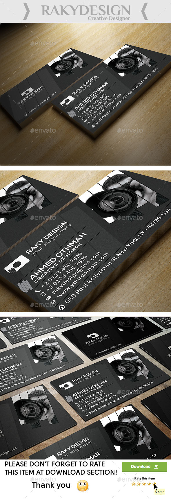 Photography Card - Corporate Business Cards