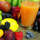 Fresh Juice and a Bunch of Fruit - VideoHive Item for Sale