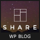 Share - A personal blog theme for sharing stories and experiences Nulled