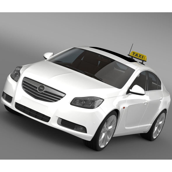 Opel Insignia Taxi - 3DOcean Item for Sale