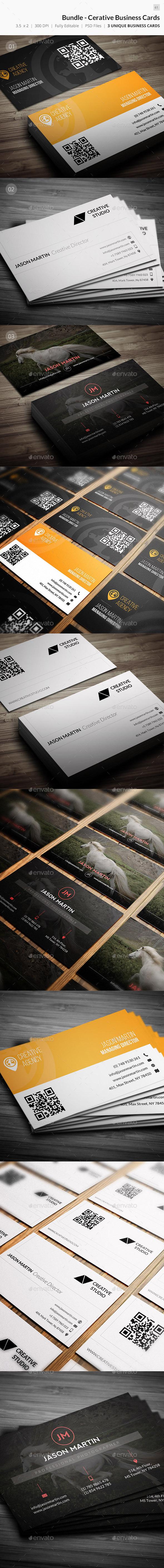 Bundle - Creative Business Cards - 61 - Creative Business Cards