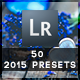 50 Presets 2015 Edition - GraphicRiver Item for Sale