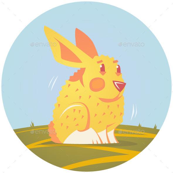 Bunny Illustration - Animals Characters
