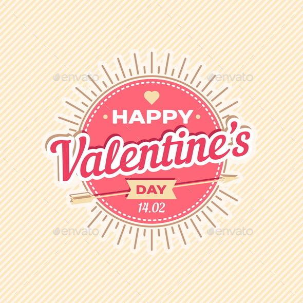 Happy Valentine's Day Greeting Card - Valentines Seasons/Holidays
