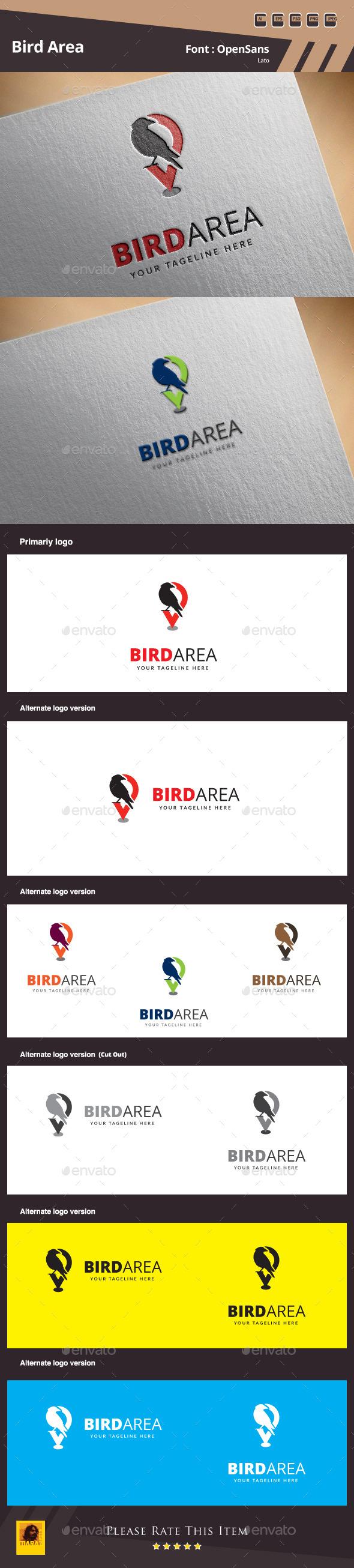Bird Area Logo Template - Symbols Logo Templates