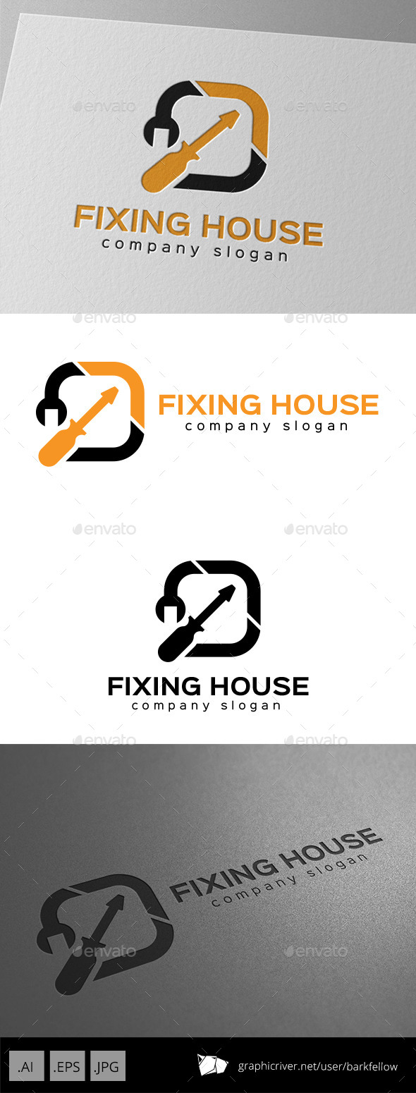 Repair Service Logo - Symbols Logo Templates