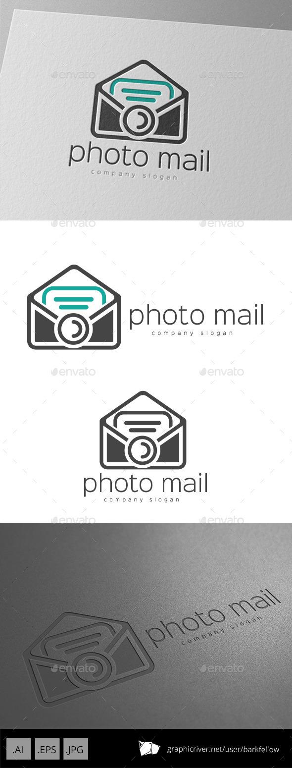 Photo Mail Logo Design - Symbols Logo Templates