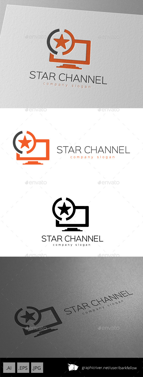 Star TV Channel Logo - Objects Logo Templates